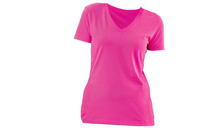 4 3 חולצות מנדפות זיעה לנשים T-Gold