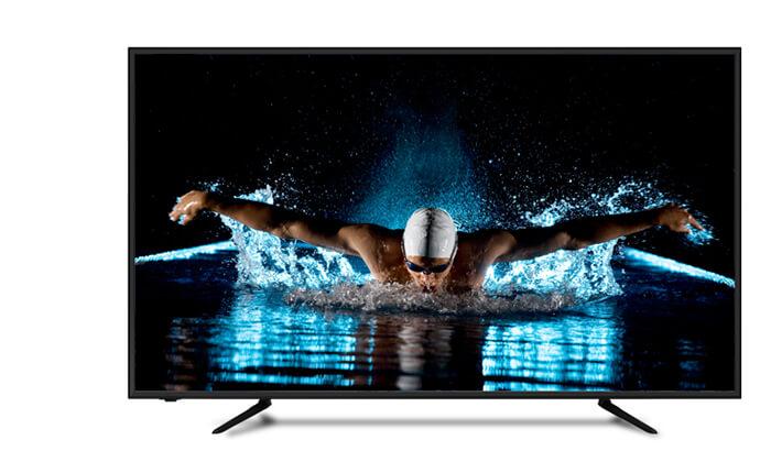 טלוויזיה 4K SMART Peerless, מסך 50 אינץ'