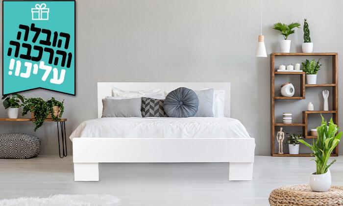 4 אולימפיה: מיטה עם מזרן קפיצים - הובלה והרכבה חינם