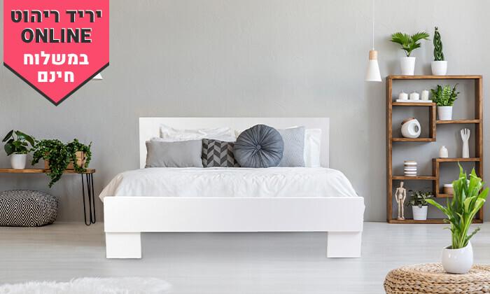 4 אולימפיה: מיטה עם מזרן קפיצים - משלוח חינם