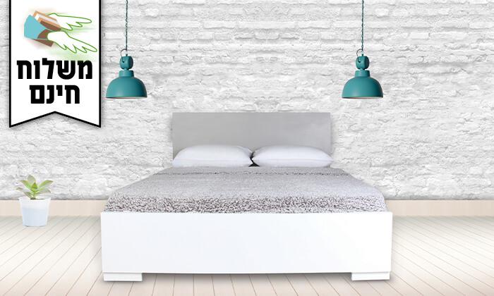 3 אולימפיה: מיטה עם מזרן קפיצים - משלוח חינם