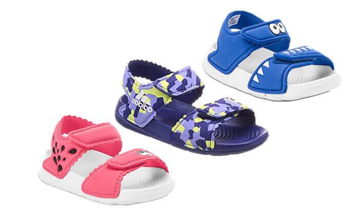 2 סנדלים לילדים אדידס adidas