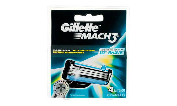 3 מארז 40 סכינים Gillette Mach 3