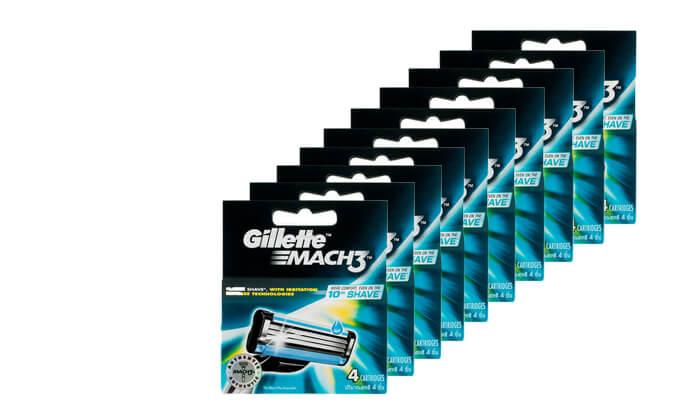 2 מארז 40 סכינים Gillette Mach 3