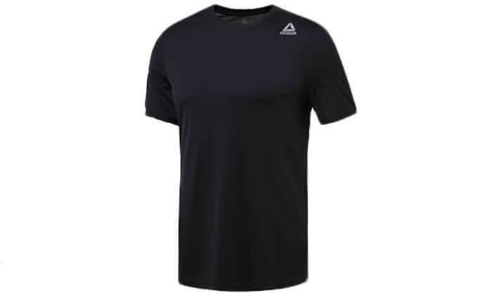 2 חולצת אימון מנדפת זיעה לגברים Reebok