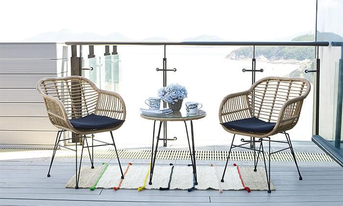 2 פינת קפה לגינה או למרפסת