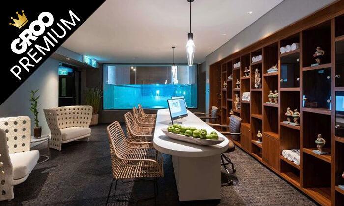 3 פינוק פרימיום: חבילת ספא עם עיסוי במלון NYX הרצליה פיתוח
