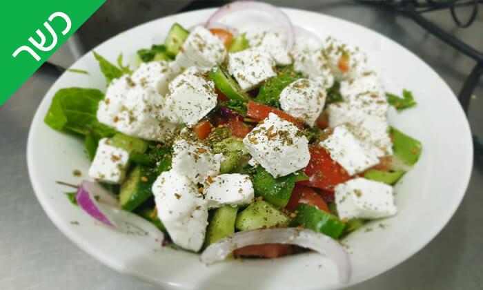 2 ארוחה זוגית כשרה ב'הפקקפה', הרכבת תל אביב