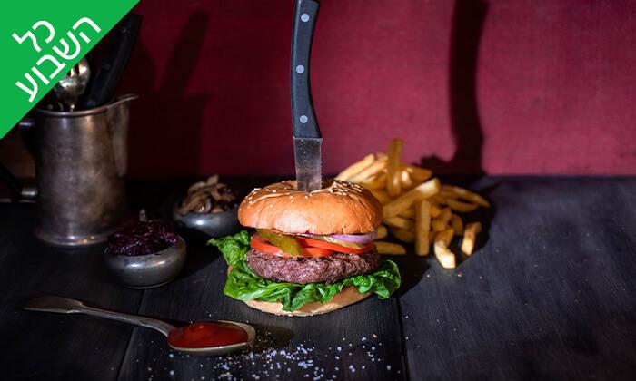 """3 ארוחה זוגית בוולפנייטס wolfnights המבורגר שף, ת""""א"""