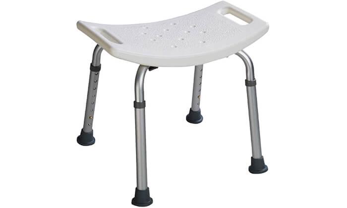 3 כיסא רחצה למניעת החלקה