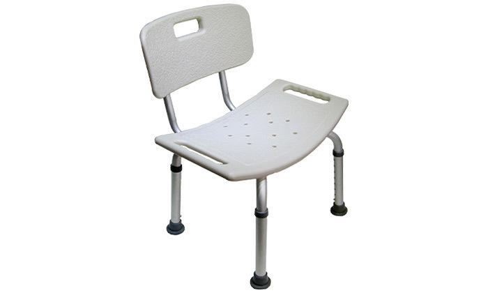 4 כיסא רחצה למניעת החלקה