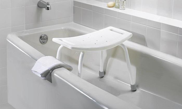 10 כיסא רחצה למניעת החלקה