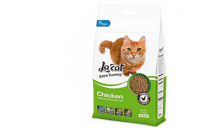 3 שק מזון יבש לחתולים לה קט