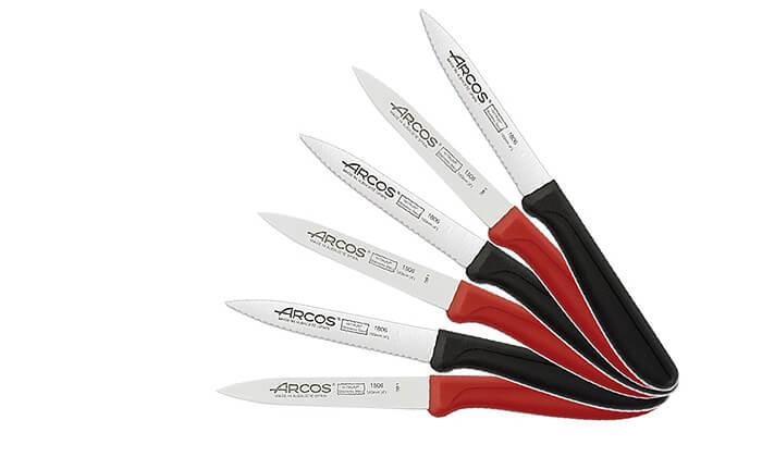 3 סט 6 סכיני ירקות ופירות ARCOS