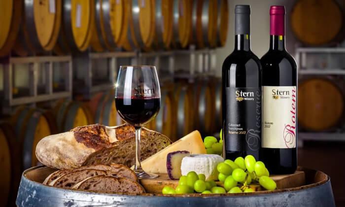 5 סיור וטעימות יין - יקב שטרן, קיבוץ תובל