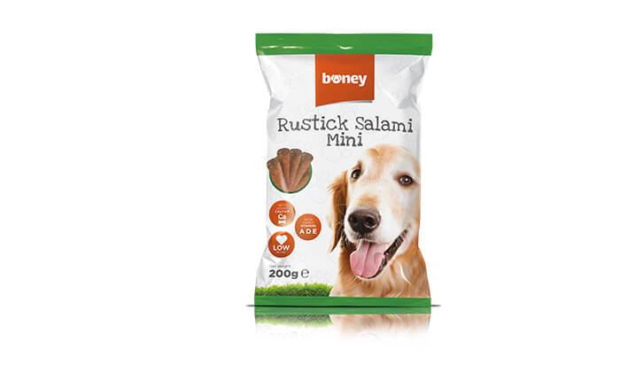 6 מארז 20 חבילות חטיפי boney לכלב - משלוח חינם!