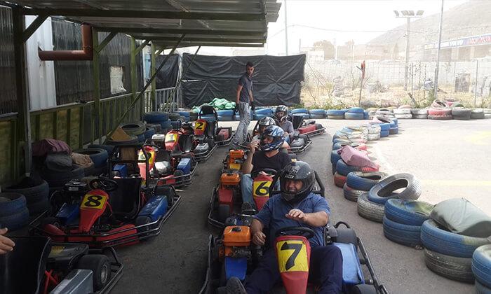 3 קארטינג לילדים - קארטינג על הדרך, מג'ד אל-כרום