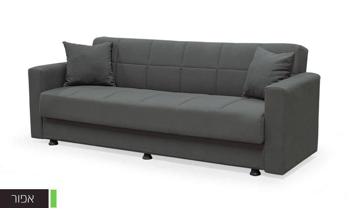 3 ספה נפתחת למיטה BRADEX - משלוח חינם