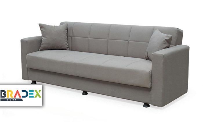 2 ספה נפתחת למיטה BRADEX - משלוח חינם
