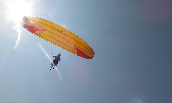 4 טיסת רחיפה עם RCP מצנחי רחיפה, ארסוף קדם