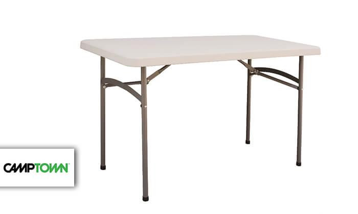 2 שולחן מתקפל 1.2 מטר קמפטאון CAMPTOWN
