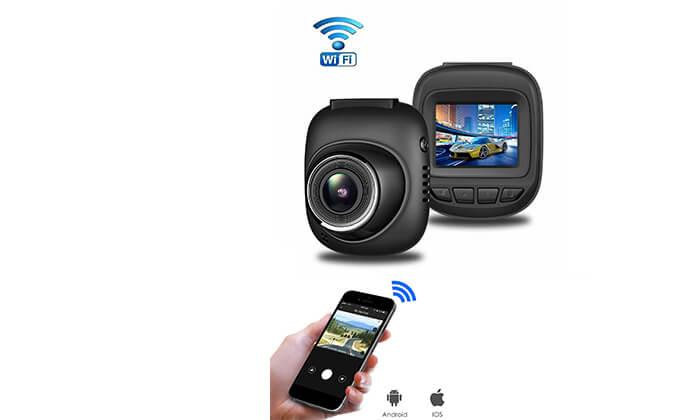 4 מצלמה אלחוטית לרכב  - משלוח חינם
