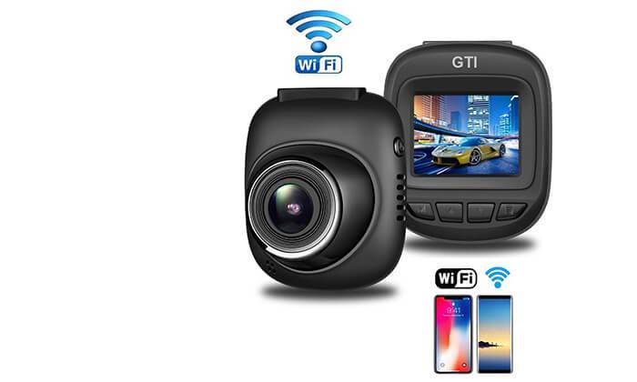 5 מצלמה אלחוטית לרכב  - משלוח חינם