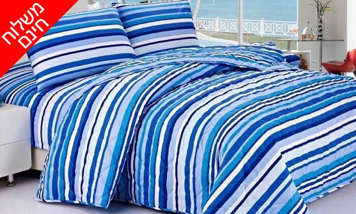14 4 סטים של מצעי קיץ ומעבר למיטה זוגית - משלוח חינם!