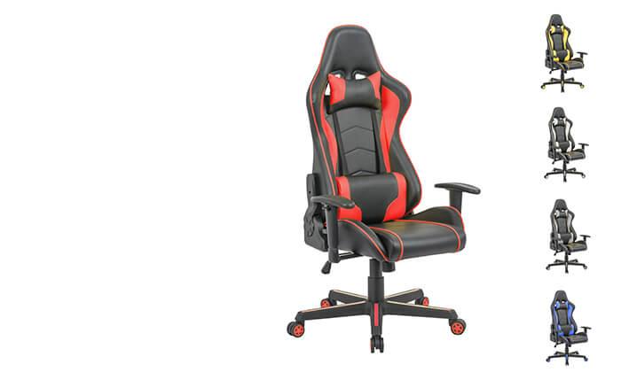2 כיסא גיימינג ארגונומי Homax