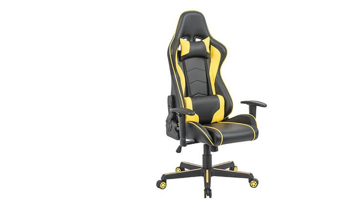 3 כיסא גיימינג ארגונומי Homax