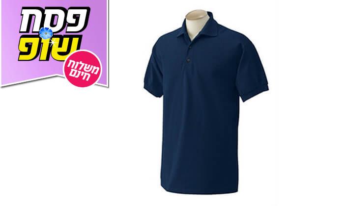 3 3 חולצות פולו מנדפות זיעהT-GOLD - משלוח חינם