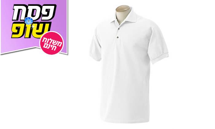 5 3 חולצות פולו מנדפות זיעהT-GOLD - משלוח חינם
