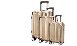 סט 3 מזוודות קשיחות Darna