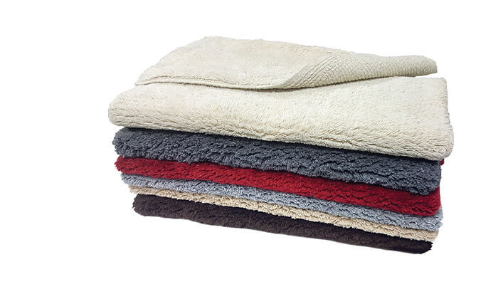 2 3 שטיחי אמבטיה 100% כותנה