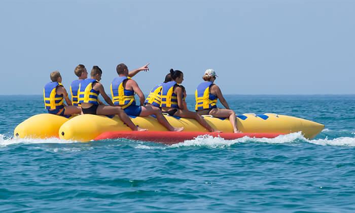4 חוויית אקסטרים ב'עולם המים', ספורט ימי על שפת הכנרת