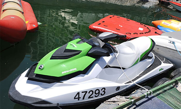 3 שייט זוגי על אופנוע ים ב'עולם המים', ספורט ימי על שפת הכנרת