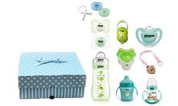 מארז מוצרים עם שם התינוק