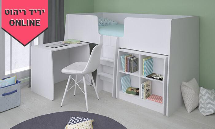9 רהיטי סוכריה: מיטת ילדים ונוער עם סולם, כוורת ושולחן