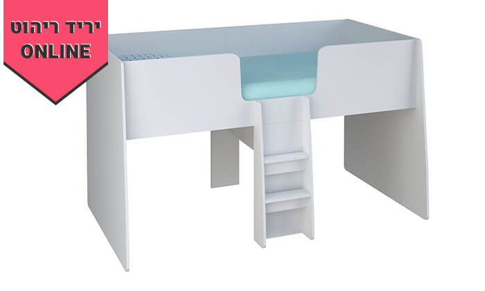 5 רהיטי סוכריה: מיטת ילדים ונוער עם סולם, כוורת ושולחן