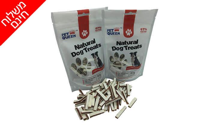 5 מארז חטיפי PET QUEEN לכלב - משלוח חינם!