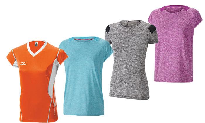 10 חולצה מנדפת זיעה לנשים MIZUNO