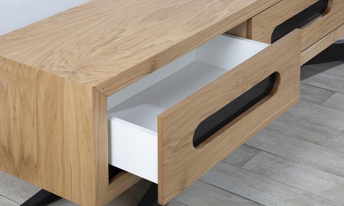 5 סט שולחן ומזנון סלון LEONARDO