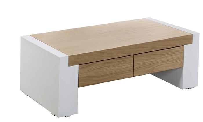 3 שולחן ומזנון עם מגירות לסלון LEONARDO