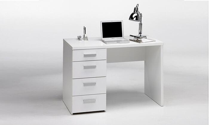 4 שולחן כתיבה עם מגירות הום דקור HOME DECOR