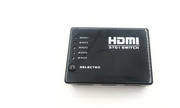 2 מפצל HDMI SWITCH