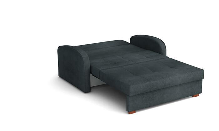 4 ספה נפתחת למיטה עם ארגז מצעים HOME DECOR
