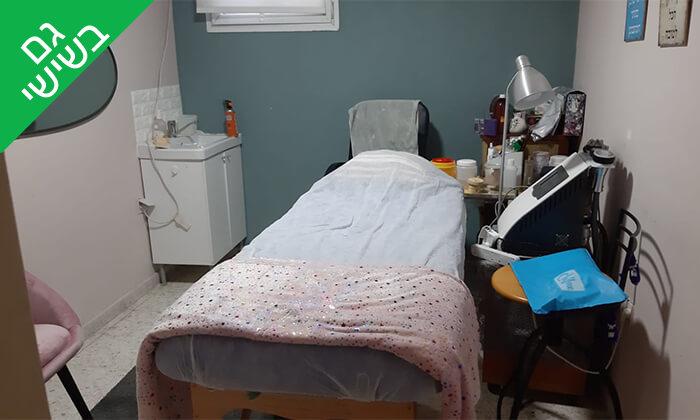 3 דיקור קוסמטי עם טיפול פנים בקליניקה של אביגיל בן ישעיה, קריית אונו