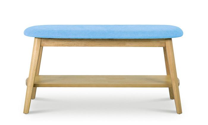 5 שמרת הזורע: ספסל עם מדף לנעליים 'ונציה' - משלוח חינם
