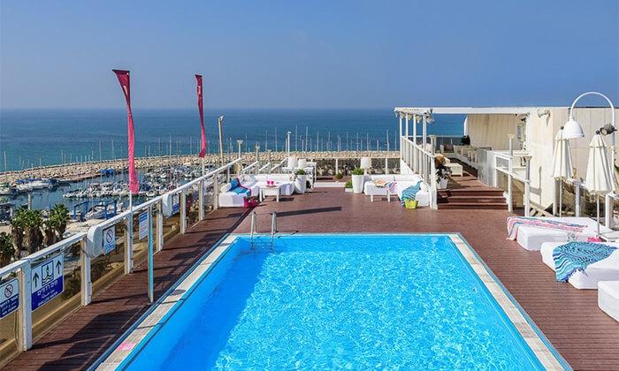 2 יום כיף במלון לאונרדו ארט תל אביב