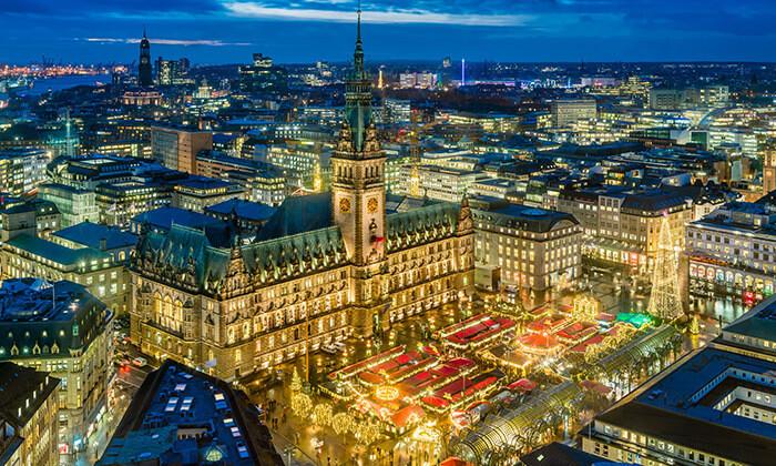 4 תעלות, גשרים ונופים: טיול יום מודרך מברלין להמבורג